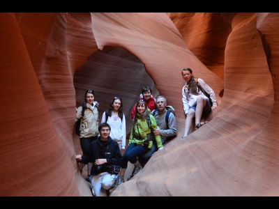 Visite d'Antelope Canyon.